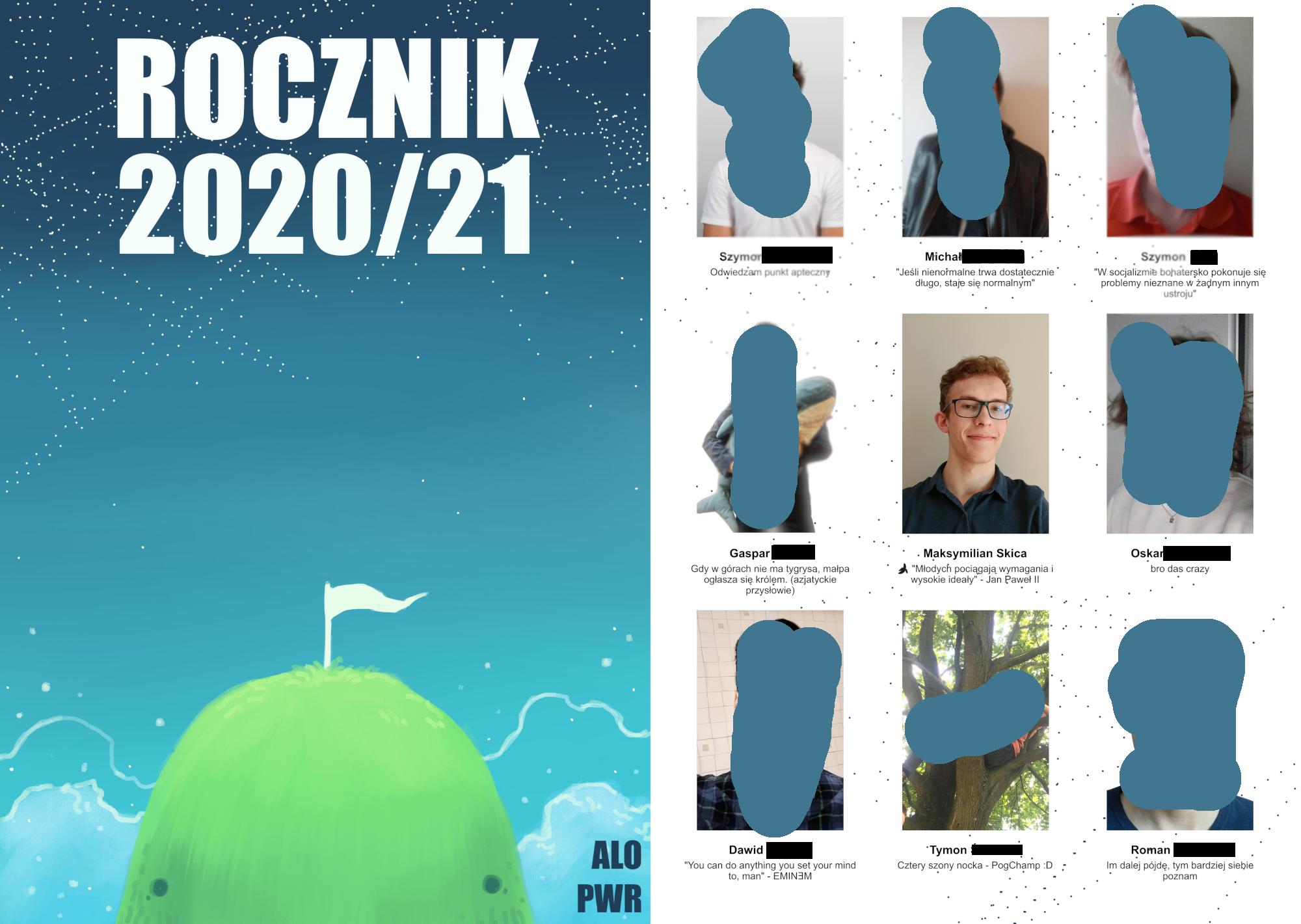 Zrzut ekranu Rocznik
